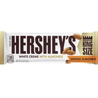 HERSHEY WHITE CREME ALMOND KS