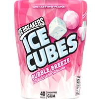 ICE CUBES 40PC BOTTLE BUBBLE BREEZE