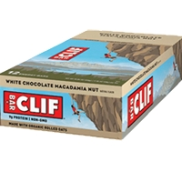 CLIF BAR WHITE MACADAMIA