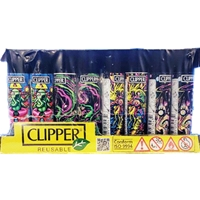 CLIPPER PSYCHEDELIC LIGHTER