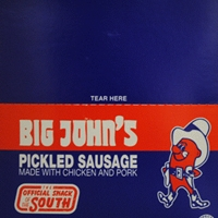 BIG JOHN'S SAUSAGE BLUE