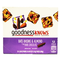 GOODNESS OATS RAISINS & ALMONDS