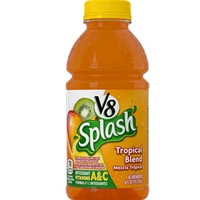 V8 SPLASH 16Z MANGO PEACH