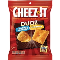 CHEEZ-IT DUOZ CARAMAL POPCORN CHEDDAR