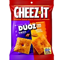 CHEEZ-IT DUOZ BACON CHEDDAR CHEESE