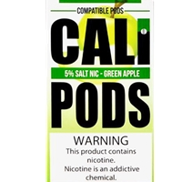 CALI PODS GREEN APPLE 8PC