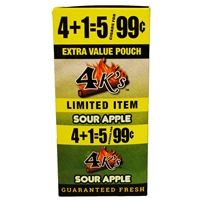 4K'S CIG 5/.99 SOUR APPLE