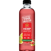 HEMP WATER STRAWBERRY LEMON 16Z