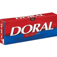DORAL RED 100`S BOX