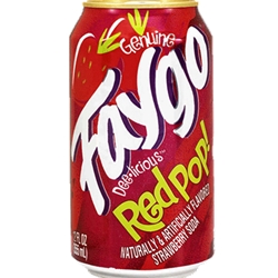 FAYGO 12OZ CAN STRAWBERRY RED