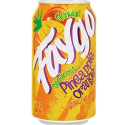 FAYGO 12OZ CAN PINEAPPLE ORNGE