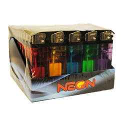 NEON DISPOSABLE LIGHTER