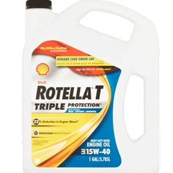 SHELL ROTELLA T 15W40 GAL