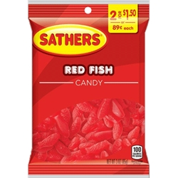 SATHER RED FISH 2/$1.50