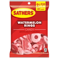 SATHER MELON RINGS 2/$1.50