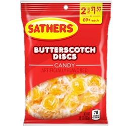 SATHER BUTTERSCOTCH DS  2/$1.5