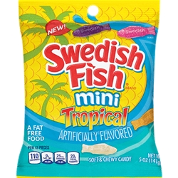 SWEDISH FISH TROPICAL PEG