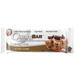 QUEST BAR CHOCOLATE CHIP COOKIE