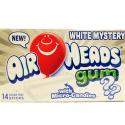Colonial Distributing - AIRHEAD GUM WHITE MYSTERY