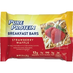 PURE BREAKFAST STRAWBERRY BAR