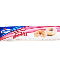 HOSTESS STRAWBERRY DONETTES