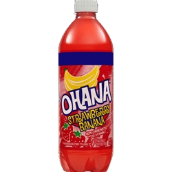 OHANA 20Z STRAWBERRY BANANA