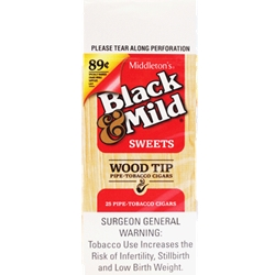 BLACK & MILD SWEET WT .89