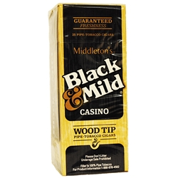BLACK & MLD CASINO WT 25CT UPR
