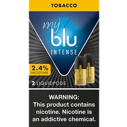 MY BLU 2.4% INTENSE TOBACCO