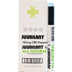 JUUBILANT CBD NATURAL PEN 150MG