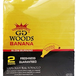 GG BANANA WOODS 2CT CIGARS