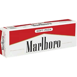 MARLBORO RED 100`s SOFT